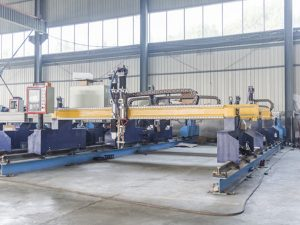 Portabel Kecil Gantry CNC Plasma Cutting Machine dari Cina